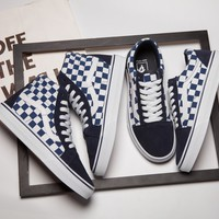 VANS JAPAN INDIGAO SK8-HI Skateboarding Shoes 36-44