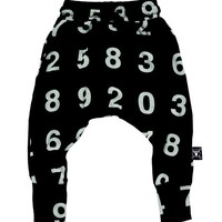 Clothes Online | NUMBERS BAGGY PANTS - BLACK NUNUNU - NEW ARRIVALS - BAZAAR