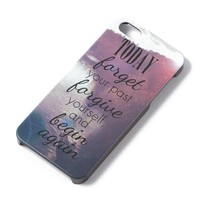 Forget Your Past Cover for iPhone 5  | Icing