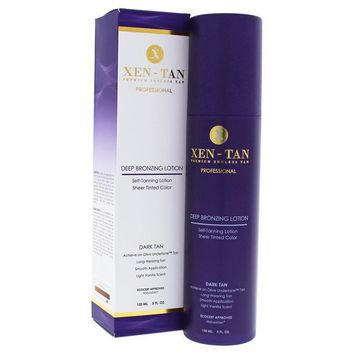 Xen-Tan Deep Bronzing Lotion By Xen-Tan For Unisex - 5 Oz Body Lotion