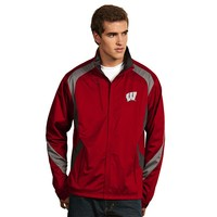 Antigua Wisconsin Badgers Tempest Desert Dry Xtra-Lite Performance Jacket
