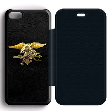 Navy Seals Flip iPhone 5C Case