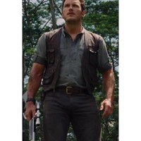 Jurassic World Vest | Owen Chris Pratt Vest