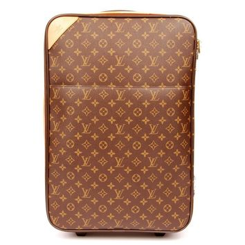 Louis Vuitton Pegase55 Rolling Luggage Suitcase 4767 (Authentic Pre-owned)
