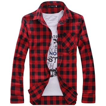 The Lumberjack's Flannel