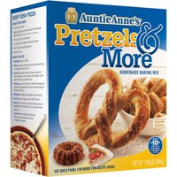 Auntie Anne's Pretzels & More Homemade Pretzel Baking Mix, 1.99 lb - Walmart.com