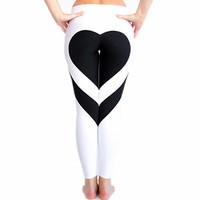 CFR 2017 Hot! Women's Fitness Leggings Workout Ankle-Length Yoga Pants Super Stretch SportWear UPS Post