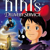 Kiki's Delivery Service Anime Movie Poster 11x17