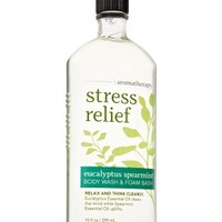 Body Wash & Foam Bath Stress Relief - Eucalyptus Spearmint