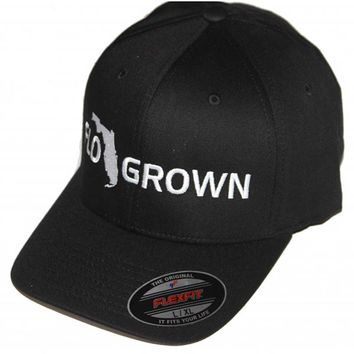FloGrown Flex Fit Hat - Black