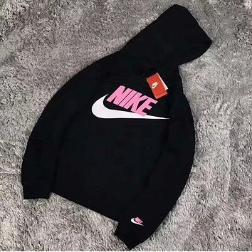 Nike Fashion Hooded Long Sleeve Top Sweater Pullover Sweatshirt