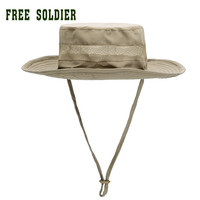 FREE SOLDIER Outdoor hiking&camping  anti-uv sunbonnet sun round capummer style fishing cap fisherman hat