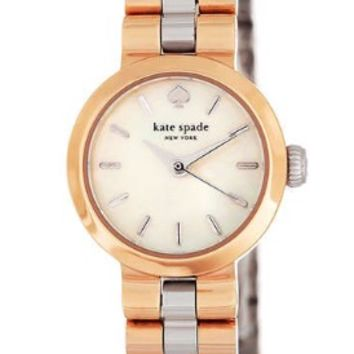 Kate Spade New York Tiny Gramercy Two-Tone Bracelet Watch
