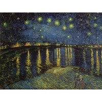 Art.com - Night Over the Rhone