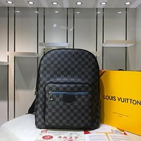 LV Louis Vuitton MEN'S MONOGRAM CANVAS JOSH BACKPACK BAG