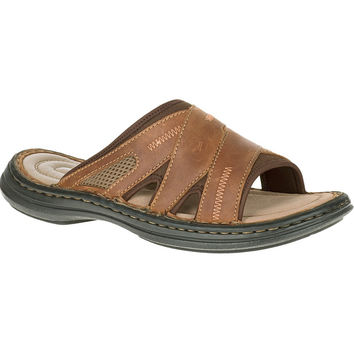 Relief Slide by Hush Puppies {Copper Leather}   HM01032-224
