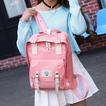 Loodial Brand Backpacks for Teenage Girl Kanken Backpack Women Nylon Travel Bag Large Capacity School Bags For Girls Mochila