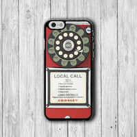 1950 Retro Vintage Red PAYPHONE Old Fashioned Classic iPhone 6S Case iPhone 5/5S iPhone 4/4S Electronics Cases Christmas Gift iPhone 6 Plus
