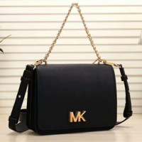 MK Women Honeybee Leather Metal Chain Shoulder Bag Satchel Crossbody G-LLBPFSH