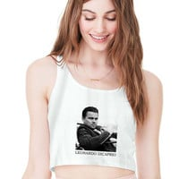 Leonardo Dicaprio For Womens Crop Tank **