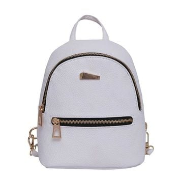 Xiniu Womens Leather Backpack