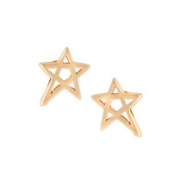 Matte Mini Star Stud Earrings - Jules Smith