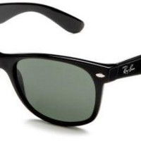 Cheap Ray-Ban RB2132 Non-Polarized Sunglasses Black Frame Crystal Green ORIGINAL outlet