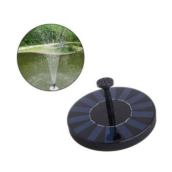 Solar Power Water Panel Fountain Pump Kit Pool Garden Pond Watering Submersible