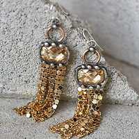 Free People Solar Sunrise Chainmail Earring