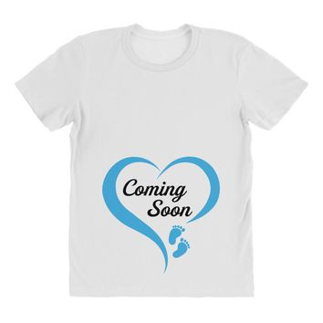 coming soon baby boy maternity design All Over Women's T-shirt