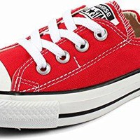 Converse Women's Chuck Taylor Shoreline Slip Casual Shoe, Red- 7 B(M) US