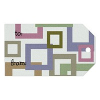 Custom imprint gift tags pack of gift tags