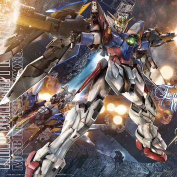 Gundam Wing EW 1/100 MG Wing Gundam Proto Zero XXXG-00W0 Endless Waltz Model Kit