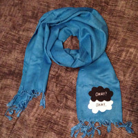 The Fault In Our Stars Blue Statement Scarf