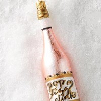 Champagne Toast Ornament