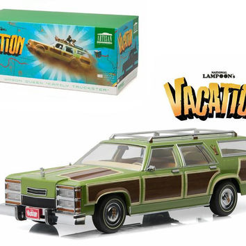 "1979 Family Truckster Wagon Queen ""National Lampoon's Vacation"" (1983) Movie 1-18 Diecast Model Car by Greenlight"