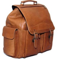 Cape Cod Leather Mountain Travel Backpack - Colombian Leather