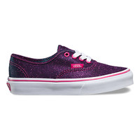 Kids Shimmer Authentic | Shop Girls Shoes at Vans