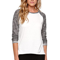 Nollie Raglan Colorblock Top at PacSun.com