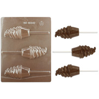 Ice Cream Cup Lollipop Chocolate Mold