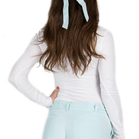 Pointe Prep Seersucker Bow Hat – Lauren James Co.