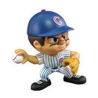 Chicago Cubs MLB Lil Teammates Vinyl Pitcher Sports Figure (2 3/4 Tall) (Series 2)