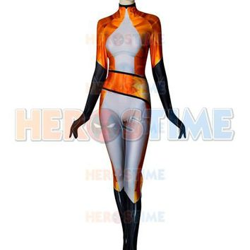 Custom Made FOX Volpina Alya Miraculous Ladybug Cosplay Costume 3D Print Halloween Party Zentai Suit Lycra villian hero Bodysuit