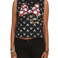 Disney Minnie Mouse XOXO Girls Muscle Top