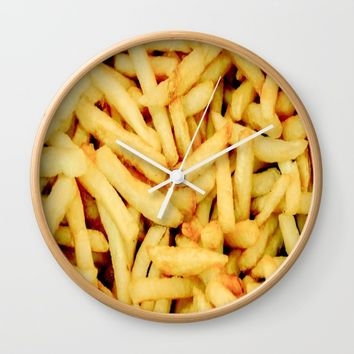 French Fries Wall Clock by PRODUCTPICS
