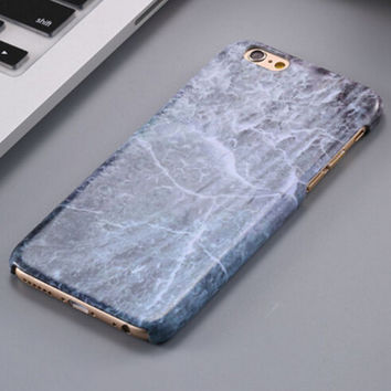 Vinatge Gray Marble Stone iPhone 5se 5s 6 6s Plus Case Cover + Nice Gift Box 267