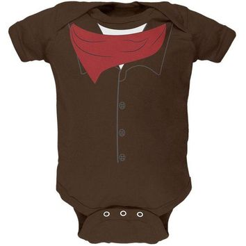 DCCKU3R Halloween Cowboy Gunslinger Costume Soft Baby One Piece