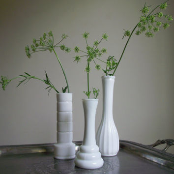 Best Milk White Vintage Vases Products On Wanelo