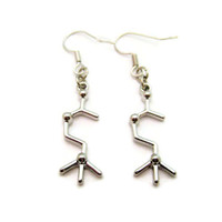 Acetylcholine Earrings Molecule Earrings Science Earrings STEM Earrings Chemistry Earrings Acetylcholine Jewelry Science Jewelry