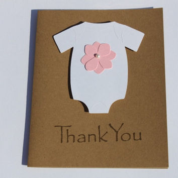Baby Shower Thank You Cards, Hydrangea Flower